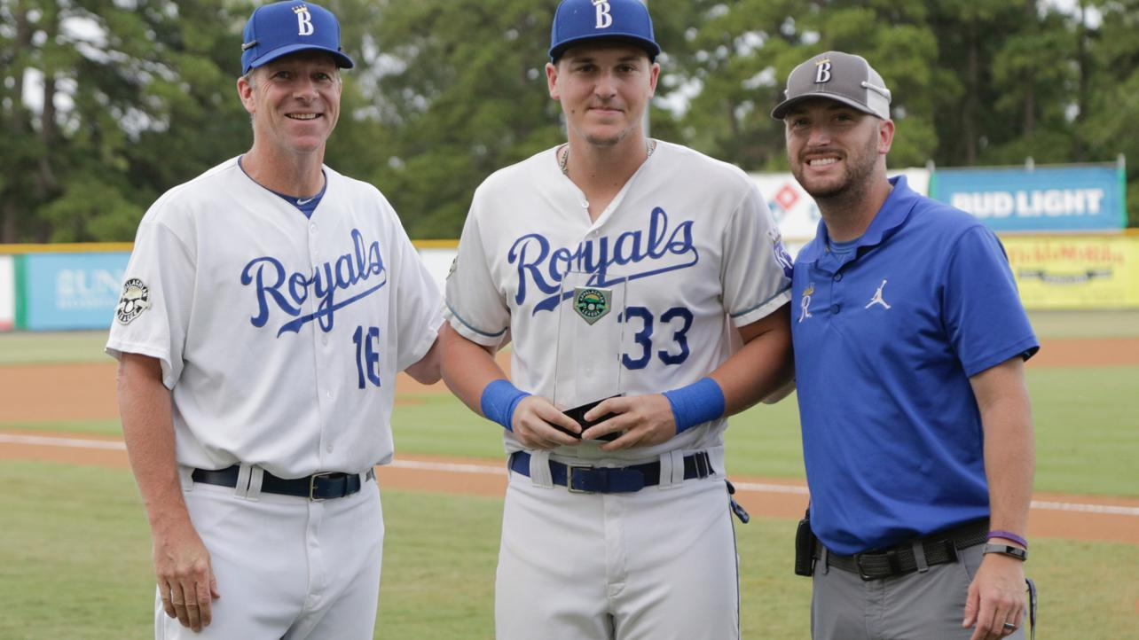 Pasquantino Named Appy League Player of the Month