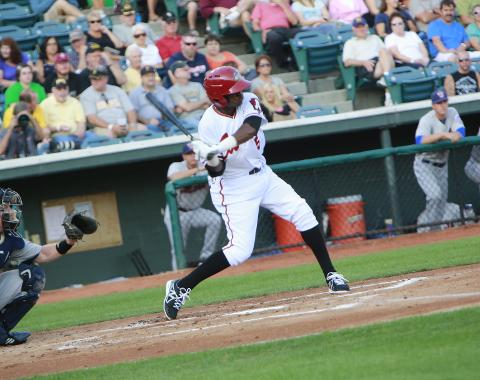 Alen Hanson had two hits on Friday night and has collected hits in 10 of his last 11 games.