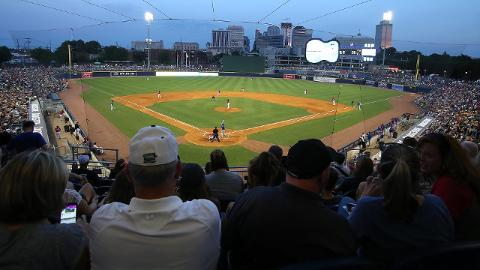 First Tennessee Park was packed in 2017 as the Nashville Sounds notched the largest per-game attendance increase in Minor League Baseball.