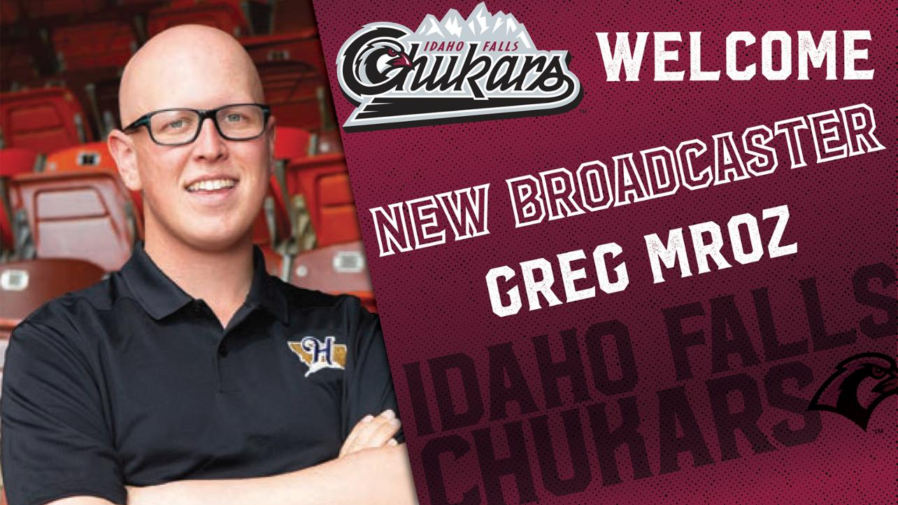 Chukars Name Greg Mroz New Broadcaster