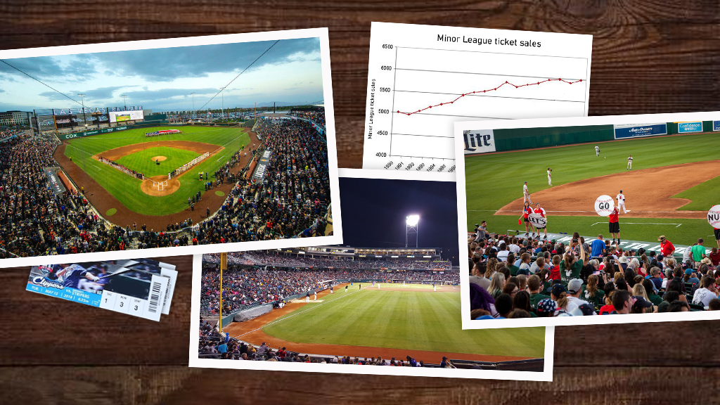Minor League attendance still on upswing