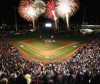 Buffalo Bisons Fireworks