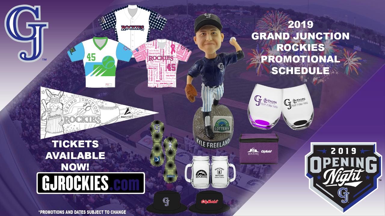 39b69e30 Rockies Release 2019 Promotional Schedule   Grand Junction Rockies News