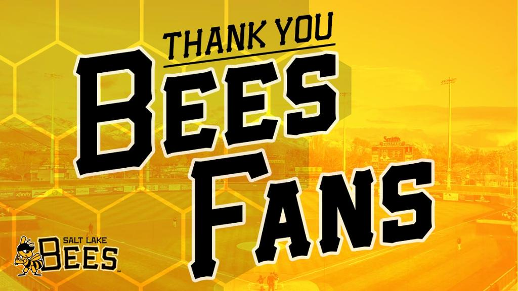Salt Lake Bees | MiLB com