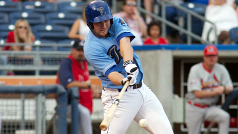 Kiel Roling led the Tulsa Drillers with 84 RBIs during the regular season.
