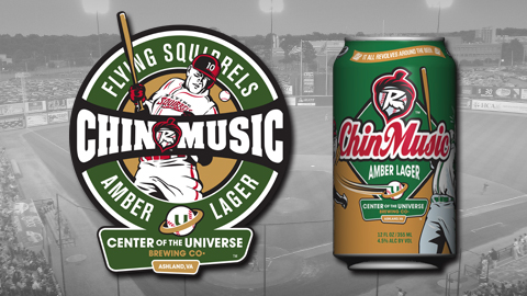Chin Music will hit the market on March 1st, 2014 during Flying Squirrels Fan Fest.