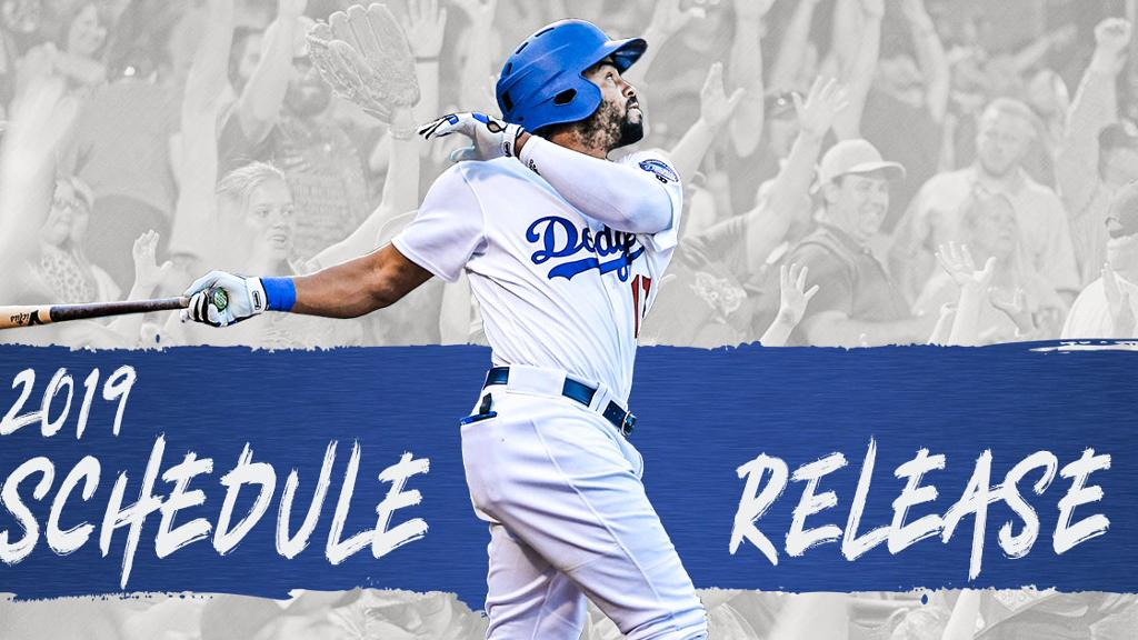 OKC Dodgers Announce 2019 Schedule