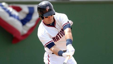 Jason Martinson is batting .327 with five homers and 15 RBIs for Potomac.
