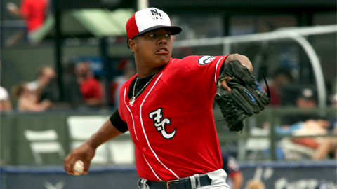 Marcus Stroman has 92 strikeouts over 76 Eastern League innings.