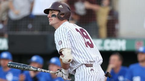 Brent Rooker led the NCAA with a .873 slugging percentage and 28 doubles this season.