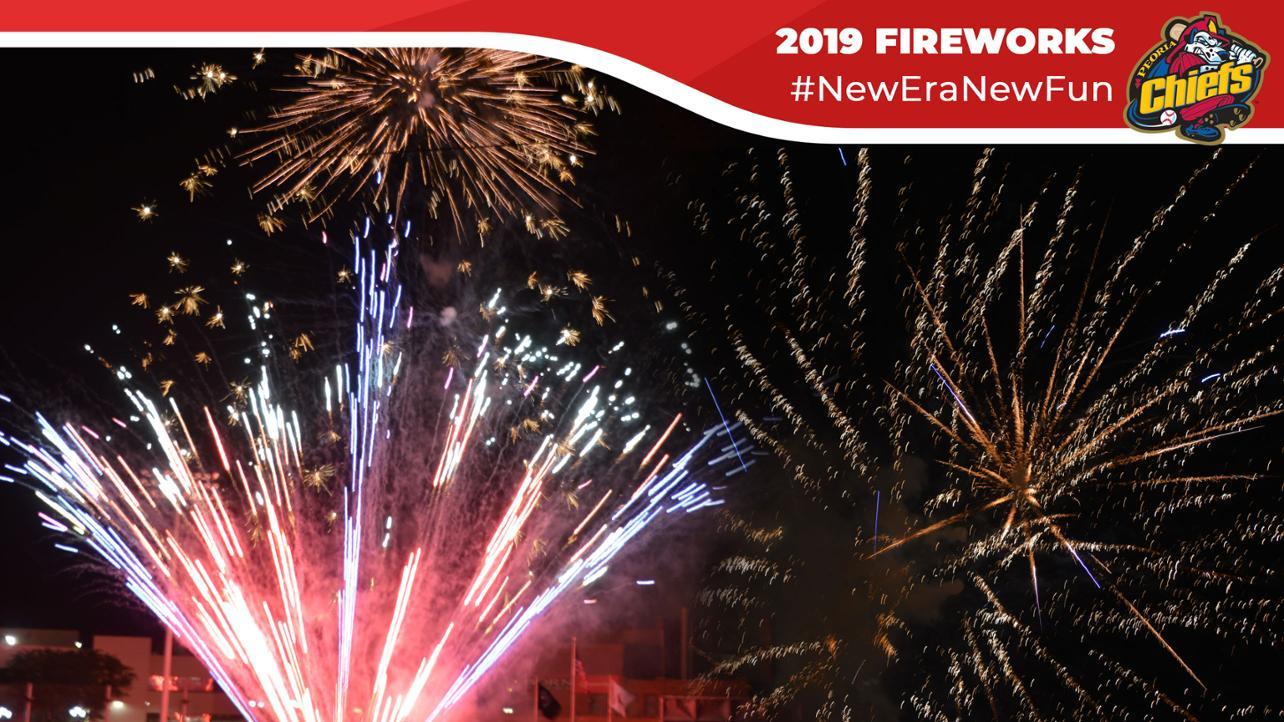 Chiefs Announce 2019 Fireworks