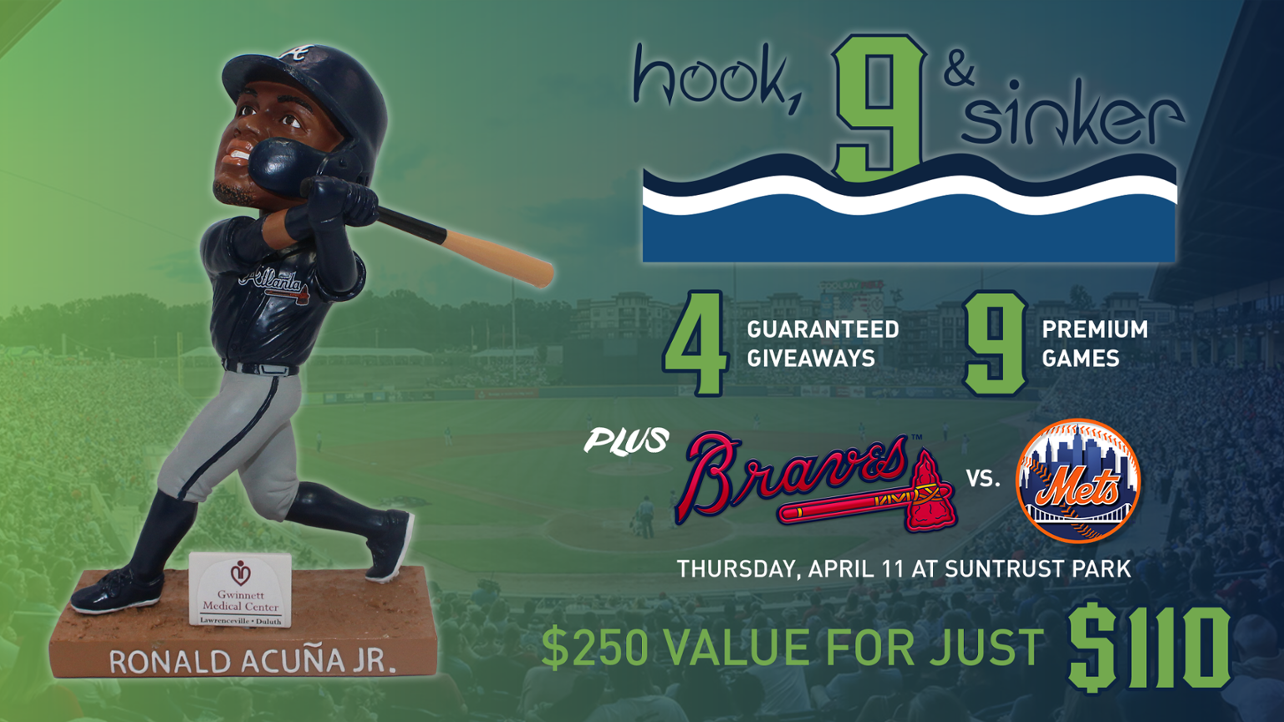 Get the Nine Biggest Stripers Games of 2019, Plus a Braves Game!