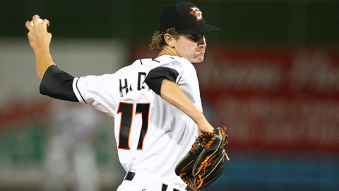 Josh Hader had a 2.65 ERA for the Orioles' Class A affiliate before his trade.