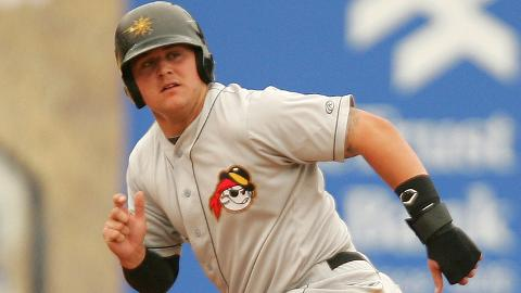 West Virginia's Stetson Allie is hitting .335 with a league-high 16 homers.