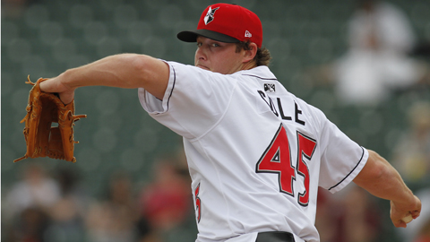 Gerrit Cole ranks fourth in the International League with a 1.11 WHIP.