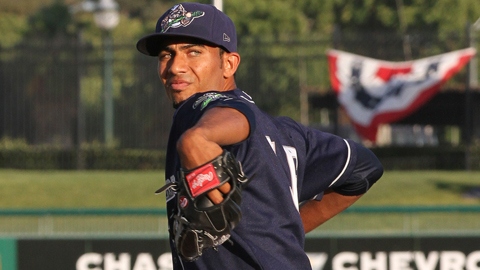 Michael Ynoa lowered his Cal League ERA by more than five runs on Friday.