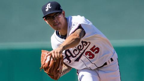 Over five Minor League seasons, Anthony Banda has a career 3.46 ERA with 509 strikeouts.