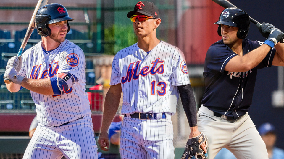Tebow to open spring in Mets' major league camp