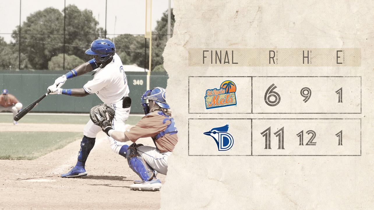 Dunedin Takes Back and Forth Finale over Mets with the Long Ball