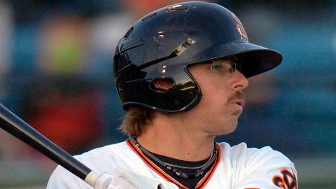 Ryan Cavan is hitting .329 over 18 games in his return to the Cal League.