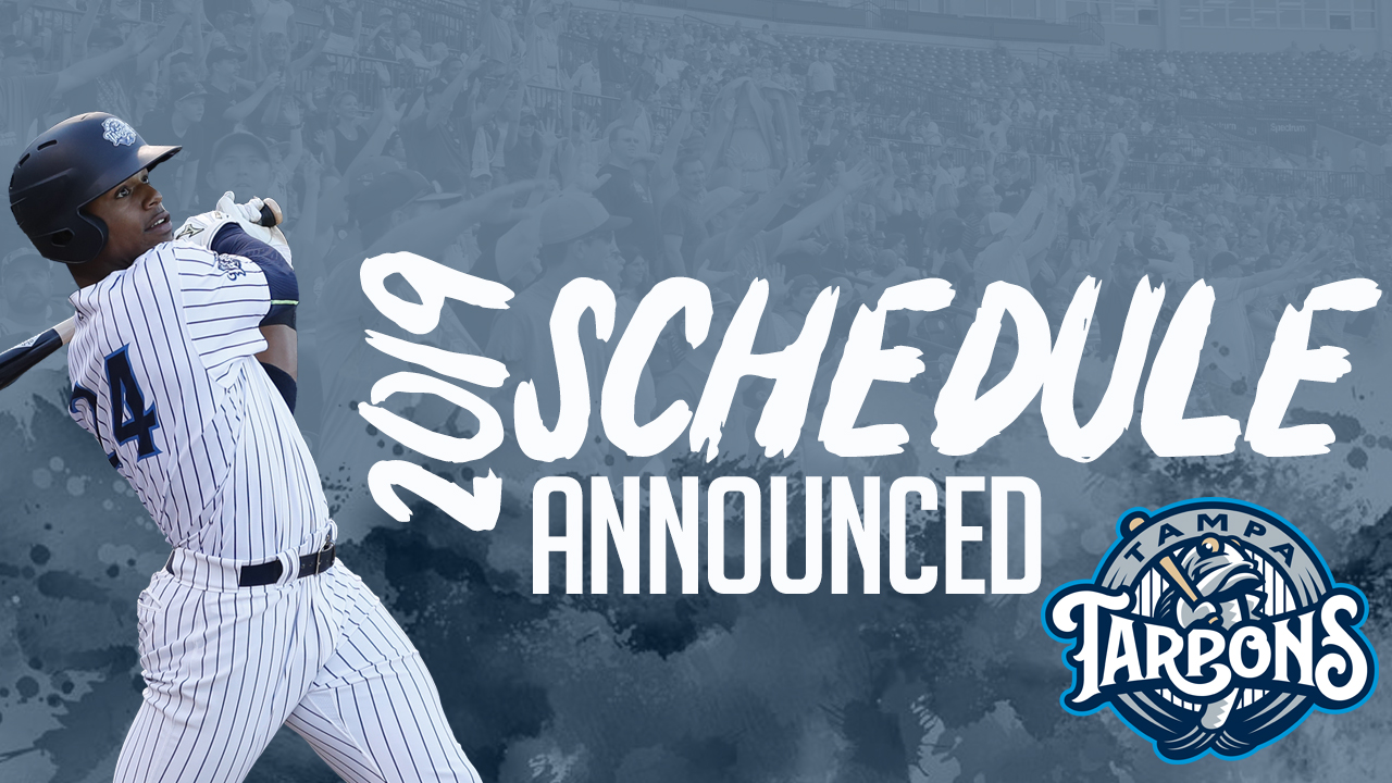 Tarpons Reveal 2019 Schedule