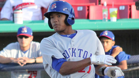 Addison Russell is 7-for-17 with five extra-base hits in his last four games.