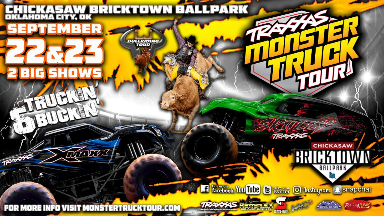 Tickets On Sale Now For September TRAXXAS Monster Truck Tour