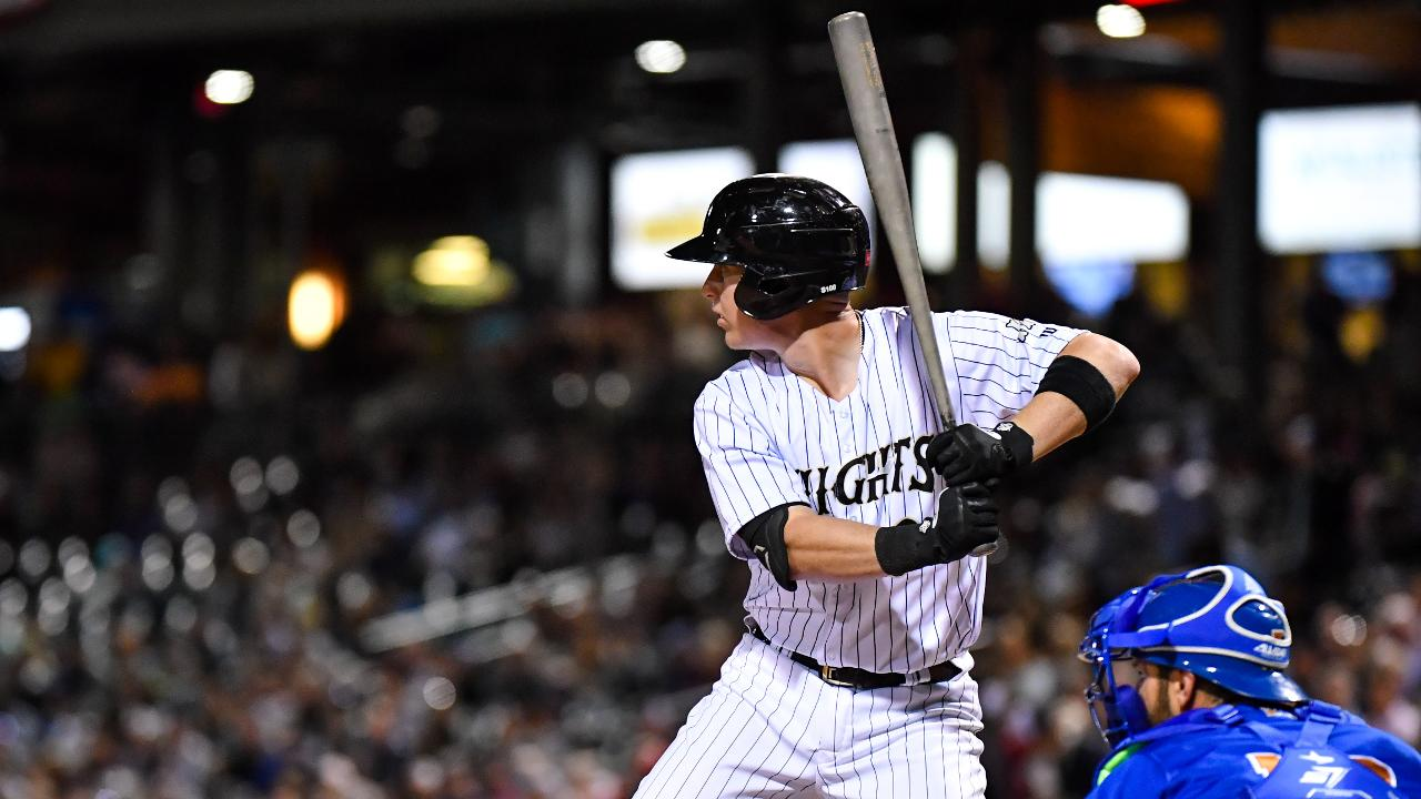 Knights Charge Past Bulls 12 11 In Opening Night Slugfest