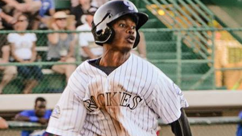 Raimel Tapia has a 25-game hitting streak and a .380 average.