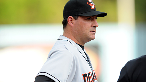 Former Oriole Ryan Minor is in his first season as manager of the Keys.