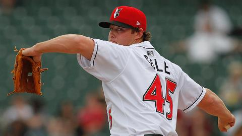 Gerrit Cole improved to 5-3 with a 2.91 ERA in a dozen starts for Triple-A Indianapolis.