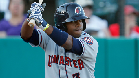 Delino DeShields leads the JetHawks with 16 stolen bases.