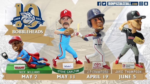 Phillies game schedule giveaways for 1st