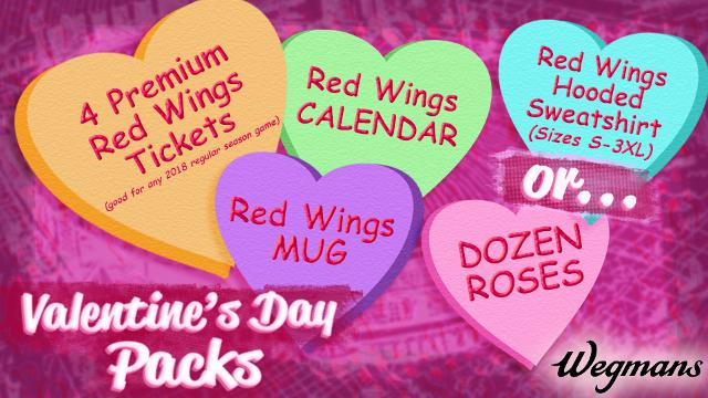 Valentine\'s Day Packs Available for Pick-Up | Rochester Red Wings News