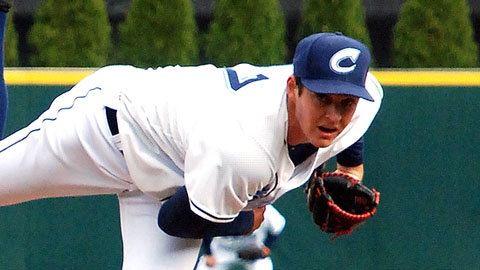 Trevor Bauer reached double-digits in strikeouts four times last season.