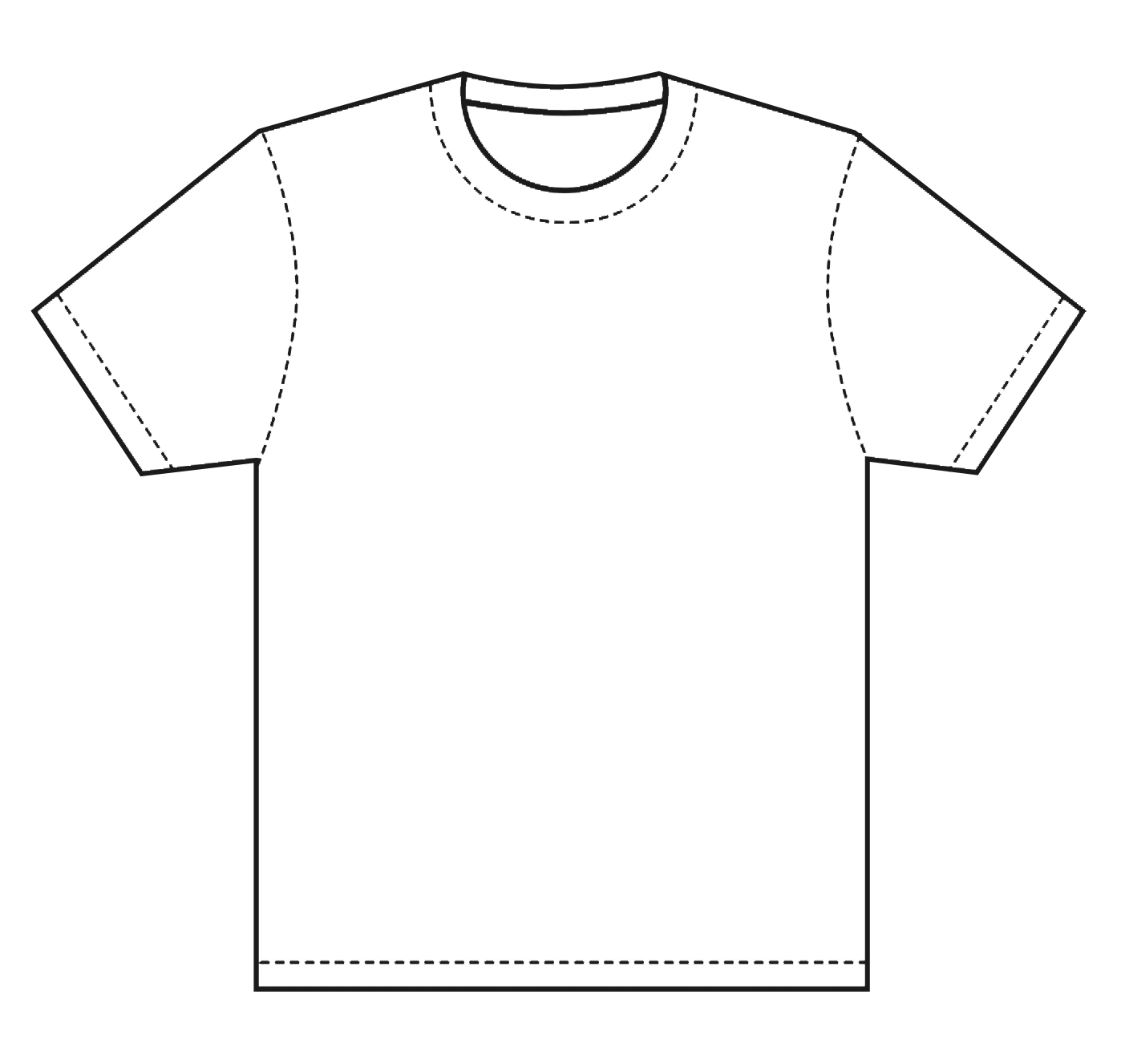 Shirt Design Template Design the bisons to a t-shirt