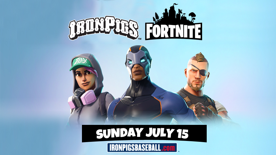 play fortnite with ironpigs pro gamers this sunday - fortnite pro team rosters