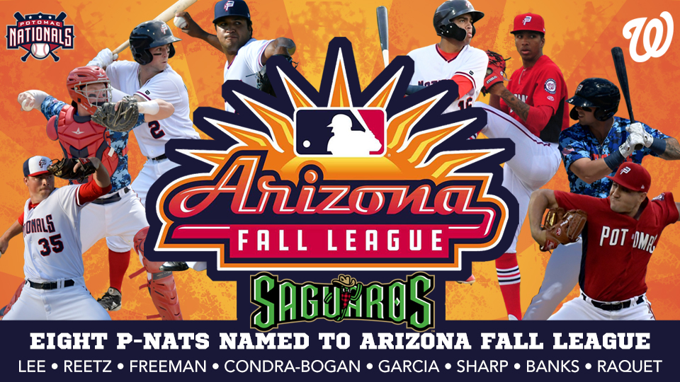 Eight Current & Former P-Nats Headed to 2019 Arizona Fall