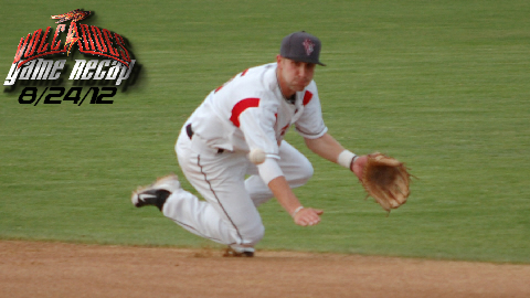 Ryan Jones' highlight-worthy catch salvaged the Volcanoes' hopes for a win.