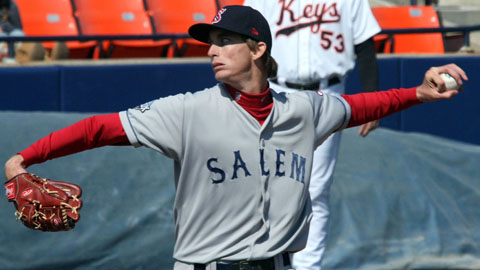 Opponents are hitting .193 against left-hander Henry Owens this season.
