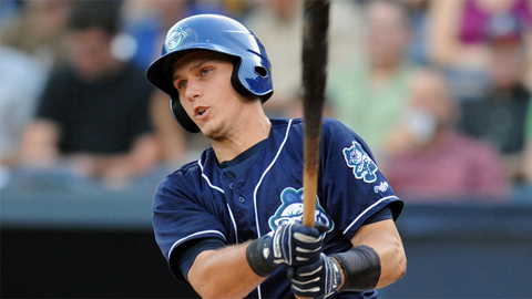Dustin Garneau hit 13 homers in 96 Double-A games.