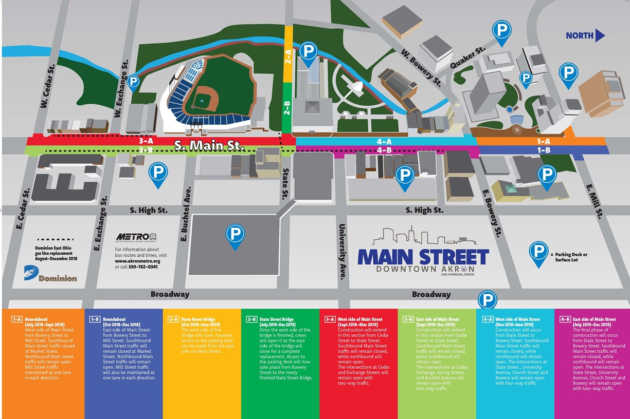 Main St Corridor Map