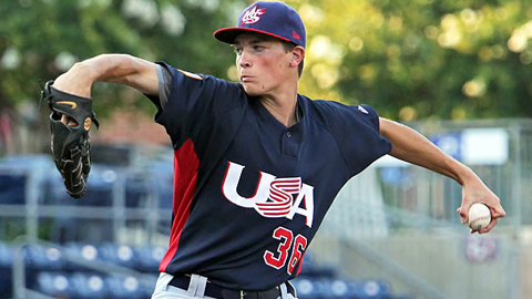 Max Fried had a 3.57 ERA in 10 appearances last year for the AZL Padres.