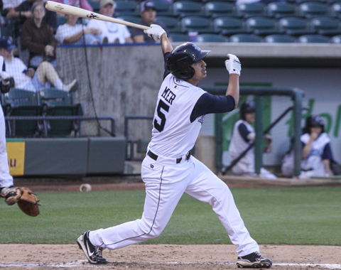 Shortstop Jio Mier went 2-for-4 and hit his fourth home run of the season in the fifth inning.