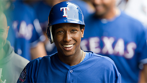 Jurickson Profar went from Frisco to Texas as a 19-year-old in 2012.
