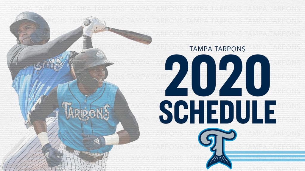 Tarpons Reveal 2020 Schedule