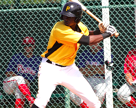 Gregory Polanco finished just two points shy of the DWL batting title.