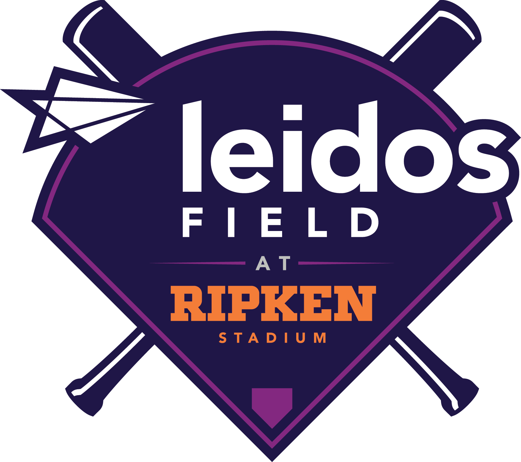 Leidos Field at Ripken Stadium Logo