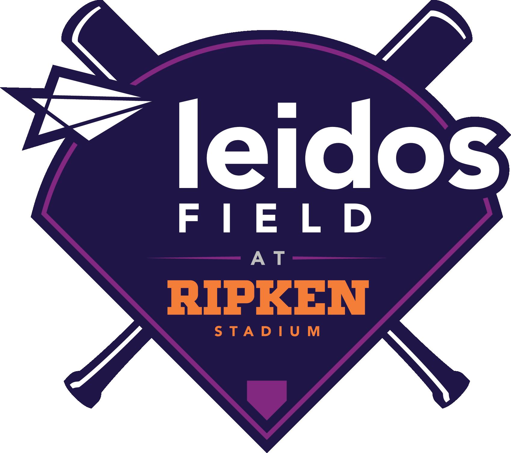 Leidos Field at Ripken Stadium Logo