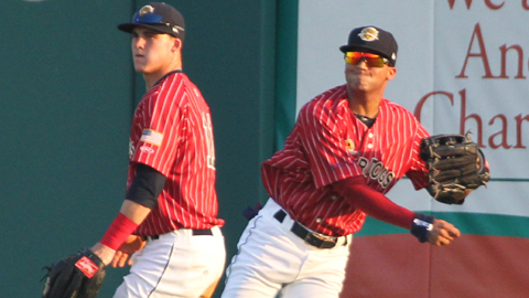 Tyler Austin (left) and Mason Williams (right)